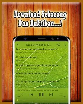 Kicau Master Pleci MP3 Offline screenshot 4