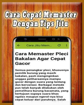 Kicau Master Pleci MP3 Offline screenshot 2