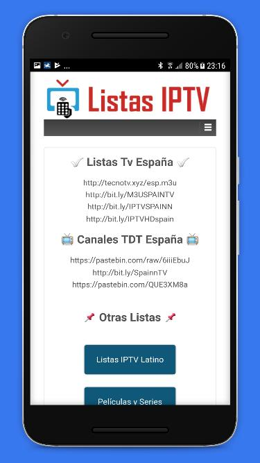 Listas IPTV for Android - APK Download