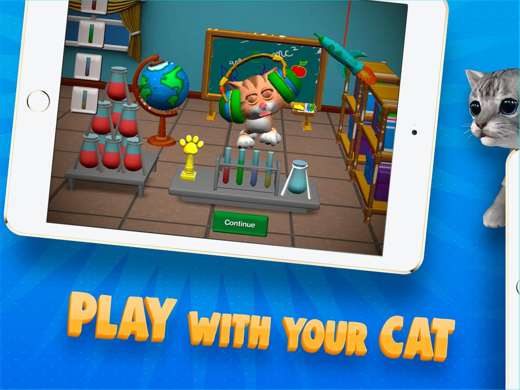 3D Coloring Book for Kids and Adults Paint My Cat for Android - APK ...