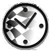 Rally Checkpoint Clock ikon