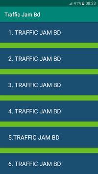 Traffic Jam Bd poster