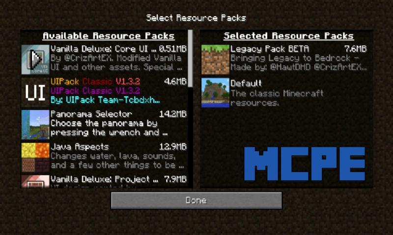 Legacy Pack Resource Pack for MCPE for Android - APK Download