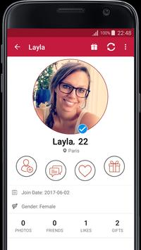 France Dating screenshot 1