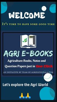 Agriculture E-books-book, Notes, and Question Pape poster