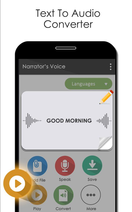 Narrator's Voice Text-to-Speech (TTS) for Android - APK Download