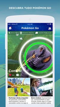 GO Amino para Pokemon Go Treinadores Brasil screenshot 1