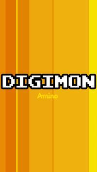 Amino para Digimon poster