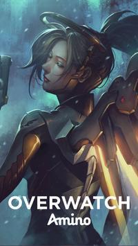 Omnic Amino for Overwatch plakat