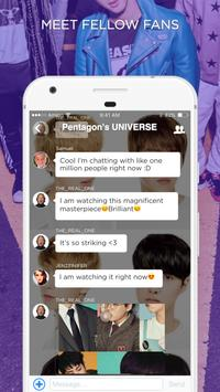 PENTAGON Amino screenshot 1