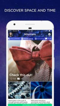 Whovian Amino for Doctor Who Fans & Whovians Poster