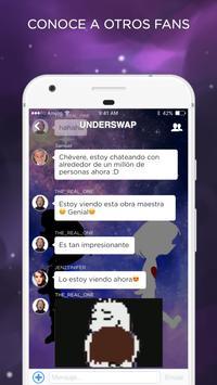 Undertale Amino en Español imagem de tela 1