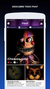 FNAF Amino en Español imagem de tela 1