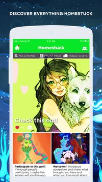 Homestuck captura de pantalla 1