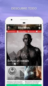 Scrolls Amino para The Elder Scrolls en Español poster