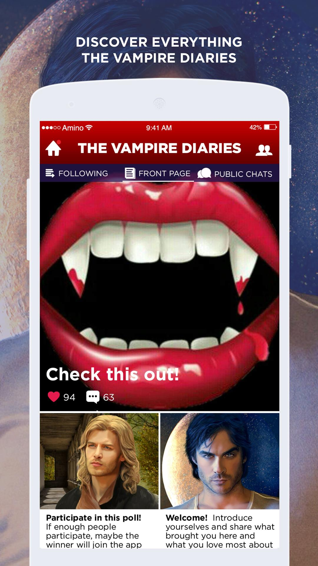 The Vampire Diaries Amino For Android Apk Download