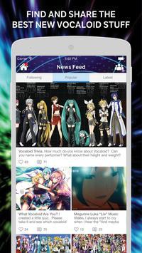 Vocaloid screenshot 1