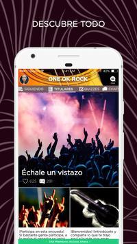 One Ok Rock Amino en Español poster