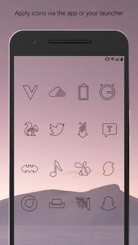 Lines Dark - Black Icons (Free Version) screenshot 4