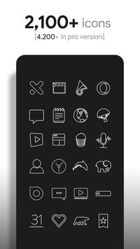 Lines - Icon Pack screenshot 1