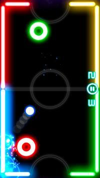 Glow Hockey poster