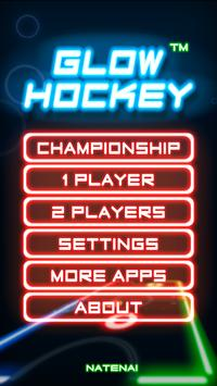 Glow Hockey captura de pantalla 11