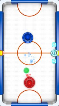 Glow Hockey captura de pantalla 1