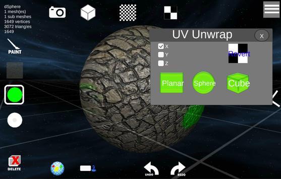d3D Sculptor screenshot 5
