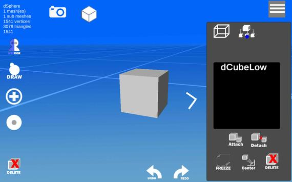 d3D Sculptor screenshot 1