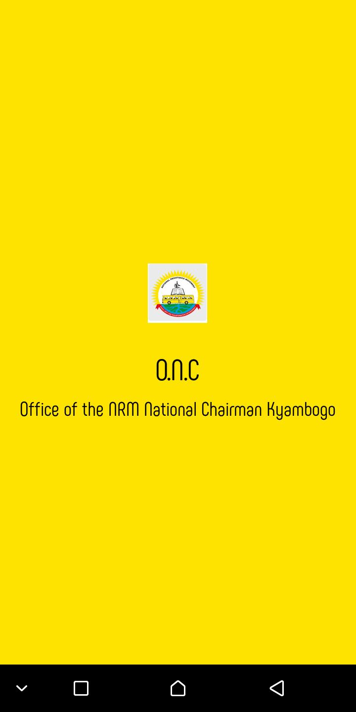 Office Of the NRM National Chairman poster