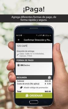 125 Café screenshot 4