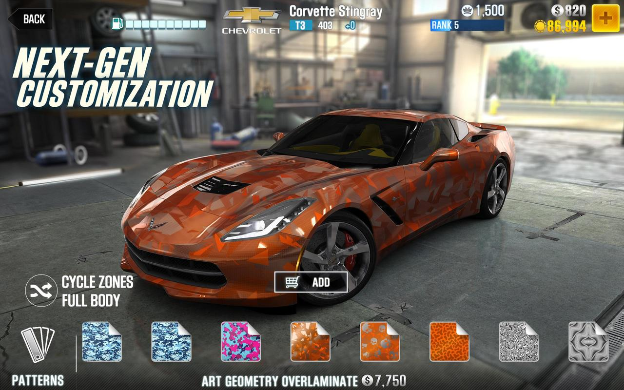 Csr Racing 2 For Android Apk Download