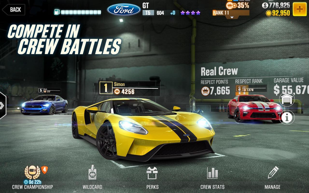 csr racing 2 apk latest version