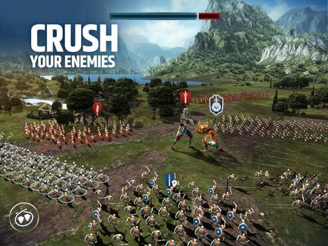 Dawn of Titans - Epic War Strategy Game स्क्रीनशॉट 8