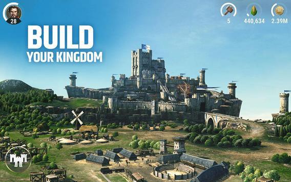 Dawn of Titans - Epic War Strategy Game पोस्टर