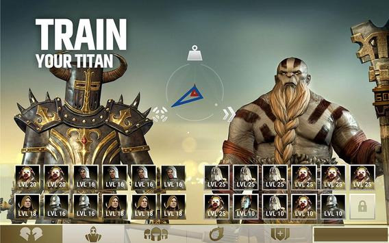 Dawn of Titans - Epic War Strategy Game स्क्रीनशॉट 1