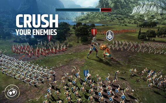 Dawn of Titans - Epic War Strategy Game स्क्रीनशॉट 3