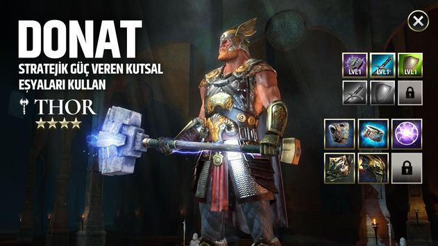 Dawn of Titans: Savaş Stratejisi Rol Yapma Oyunu Ekran Görüntüsü 6