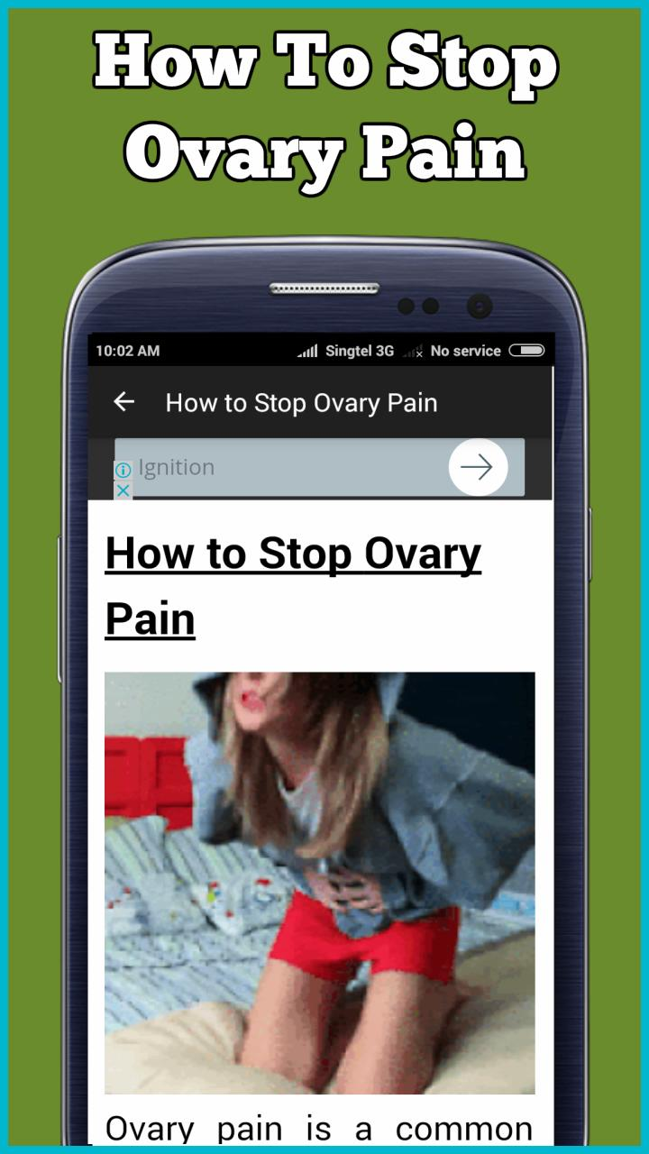 Truth About Ovarian Cyst Natural Treatment For Android -2421