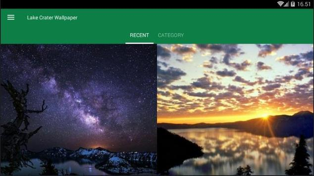 Crater Lake Wallpaper screenshot 5