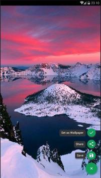 Crater Lake Wallpaper poster