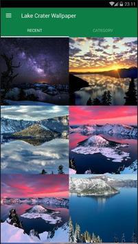 Crater Lake Wallpaper screenshot 1