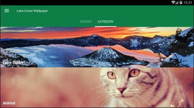 Crater Lake Wallpaper screenshot 3