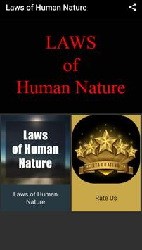 Laws of Human Nature poster