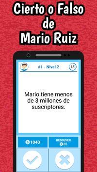 Mario Ruiz Quiz poster