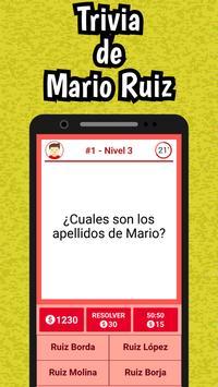 Mario Ruiz Quiz screenshot 1
