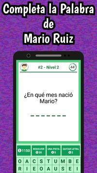 Mario Ruiz Quiz screenshot 2