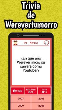 Werevertumorro Quiz screenshot 1
