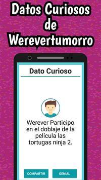 Werevertumorro Quiz screenshot 5