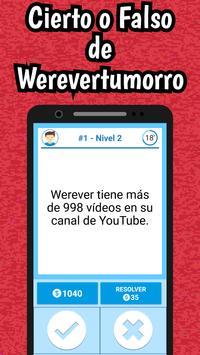 Werevertumorro Quiz screenshot 6